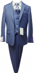 BOYS 5PC. SUIT (NEWBLUE) 2121207