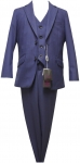 BOYS 3PC SUITS (2121208) BLUE
