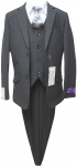 BOYS 5PC. SUIT (BLACK) 2121209