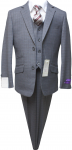 BOYS 5PC. SUIT (GRAY) 2121209