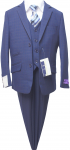 BOYS 5PC. SUIT (NEWBLUE) 2121209