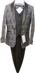 BOYS 5PC. SUIT (GRAY) 2121210