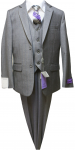 BOYS 5PC. SUIT (GRAY) 2121211
