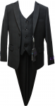 BOYS 3PC SUITS (2121212) BLACK