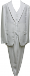 BOYS 3PC. SUIT (2131309) WHITE