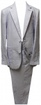 BOYS 2PC. SUIT (BLUE LINEN)