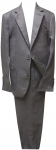 BOYS 2PC. SUIT (DARK GRAY LINEN)