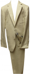 BOYS 2PC. SUIT (BEIGE LINEN)