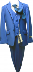BOYS 5PC. TR SUIT (2141401) FRENCH NEW BLUE