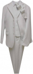 BOYS 5PC.TR SUIT (2141401) WHITE