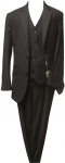 BOYS 3PC. TR SUITS (BLACK)