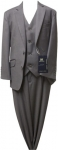 BOYS 3PC. TR SUITS (L. GRAY)