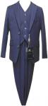BOYS 3PC. TR SUITS (MEDIUM BLUE)