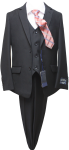 BOYS 5PC. TR SUIT (2141410) BLACK