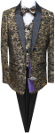 BOYS 5PC. SUIT (GOLD/BLACK) 2141422
