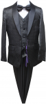 BOYS 5PC. SUIT (BLACK) 2141424