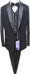 BOYS 5PC. SUIT (BLACK) 2141468