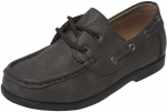 KIDS BOAT SHOES (2212151) ALL BROWN
