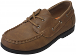 KIDS BOAT SHOES (2212151) ALL TAN