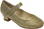 GIRLS DRESSY SHOES (2242461) GOLD