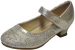 GIRLS DRESSY SHOES (2242461) SILVER