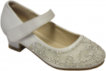 GIRLS DRESSY SHOES (2242461) WHITE
