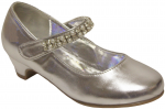 GIRLS DRESSY SHOES (2242463) SILVER METALLIC