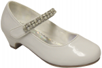 GIRLS DRESSY SHOES (2242463) WHITEPAT