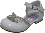GIRLS DRESSY SHOES (2242472) WHITEPAT