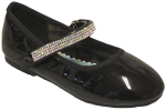GIRLS BALLERINAS (2242473) BLACKPAT