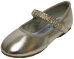 GIRLS BALLERINAS (2242473) SILVER METALLIC