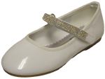 GIRLS BALLERINAS (2242473) WHITEPAT