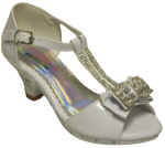GIRLS DRESSY SHOES (2242475) WHITEPAT