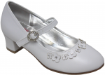GIRLS DRESSY SHOES (2242483) WHITE SMOOTH