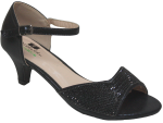 LADIES DRESSY SHOES (2272721) BLK