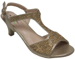 LADIES DRESSY SHOES (2272722) CHAMPAGNE