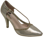 LADIES DRESSY SHOES (2272726) CHAMPAGNE