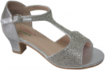 GIRLS DRESSY SHOES (2272742) SILVER