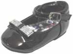GIRLS DRESSY SHOES TODDLERS (2344411) BLACK PAT