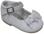 GIRLS DRESSY SHOES TODDLERS (2344411-1) WHITE PAT
