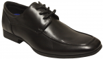 BOYS DRESSY LACE UP SHOES (BLK)