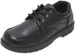 BOYS SCHOOL SHOES (2383803) BLACK