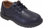 NEW BOYS SCHOOL SHOES (2383803) NAVY