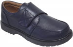 NEW BOYS SCHOOL SHOES (2383804) NAVY