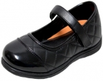 GIRLS SCHOOL SHOES (2383818) BLACK