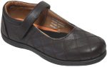 GIRLS SCHOOL SHOES (2383825) BROWN