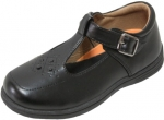 GIRLS SCHOOL SHOES (2383830) BLACK