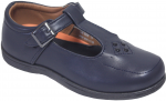 GIRLS SCHOOL SHOES (2383830) NAVY