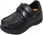 NEW BOYS SCHOOL SHOES (2383851) BLACK