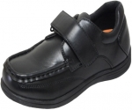 NEW BOYS SCHOOL SHOES (2383852) BLACK